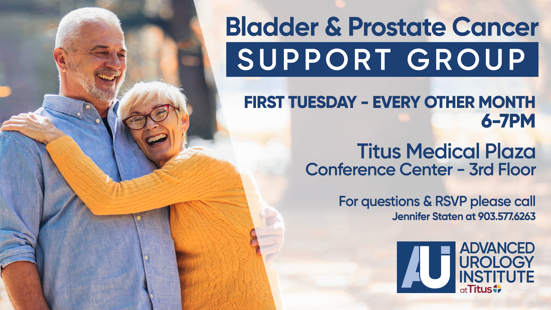 Bladder & Prostate Cancer Support Group
